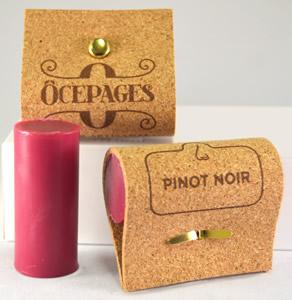 Savon Bouchon Pinot-Noir parfum fruits rouges