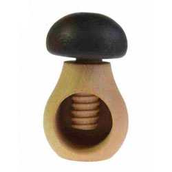 Casse noix en bois champignon