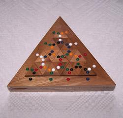 Casse tête Domino Triangle