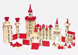 Jeu construction Chateau Fort en bois