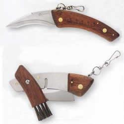 Couteau à champignons Maserin pliable Palissandre