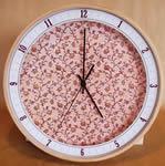 Horloge murale Fleur 3