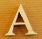 Lettres en bois Lettre A