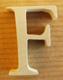 Lettres en bois Lettre F