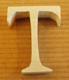 Lettres en bois Lettre T
