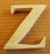 Lettres en bois Lettre Z
