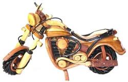 Moto en bois Roadster