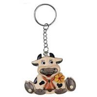 Porte-clé Vache avec cloche