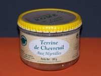Terrine pur Porc de Chevreuil aux Myrtilles