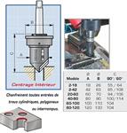 Appareil à chanfreiner Intèrieur KOPAL chanfrein 21 à 59 mm