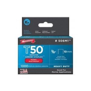 Agrafes T50 Pattes 6mm Galva pour agrafeuse T55, T50PBN
