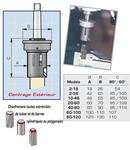 Appareil à chanfreiner Extérieur KOPAL  chanfrein 4 à 37 mm