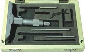 Micromètre de profondeur cap 0-25mm
