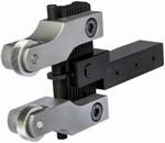 Outil à moleter double réglable par pression 2 molettes RD2