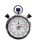 Chronomètre professionnel à cadran double 1/5 Sec + 100 min - 30 min Hanhart