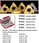 Kit Outil ext carré de 25 + 10 plaques