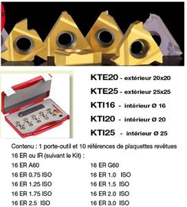 Kit Outil int dia 20 + 10 plaques