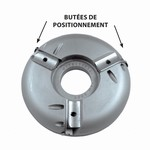 Porte-outils plate-bande