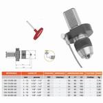 Mandrin de perçage de précision à clé monobloc DIN-69880 VDI HEXA