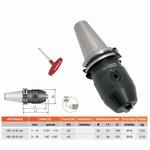 Mandrin de perçage de précision à clé monobloc DIN-69871 (ID) HEXA BLACK