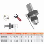 Mandrin de perçage de précision auto-serrant monobloc DIN-69880-VDI (VDI) + clé NPU