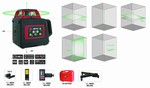 Laser honrizontal et vertical rotatif vert - 400M
