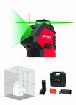 Niveau automatique laser vert 360 degrés - 1 vertical - 2 points d'aplomb – 15,20 m