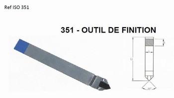 Outil de finition Iso 351