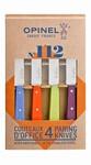 Coffret 4 couteaux ''office'' couleurs acidulés n°112