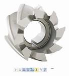 Fraise deux tailles à trou lisse - pour finition HSS Cobalt 8% - Usinage acier 850 Nm²
