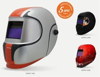 Masque de soudure 4 capteurs réglage intérieur - DSPRO490 – Gamme PRO