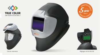 Masque de soudure 3 capteurs – NEOPRO 390TC – Gamme Industrie