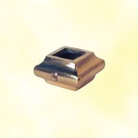 Garniture courte laiton poli �14x14mm