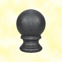 Pommeau pigne fonte H125mm