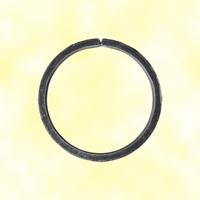 Cercle fer forgé Ø110mm 12x6mm