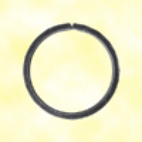 Cercle fer forgé Ø120mm 20x6mm