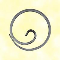 Escargot cercle Ø110mm 14x6mm