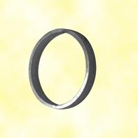 Cercle aluminium Ø100mm 14x5mm