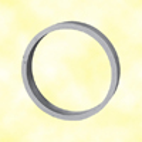 Cercle aluminium Ø100mm 20x6mm