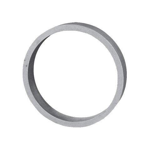 Cercle aluminium Ø100mm 12x5mm