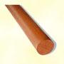 Main courante ronde bois Ø48mm en sapelli