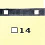 Barre poinçonnée 40x8 15x�15