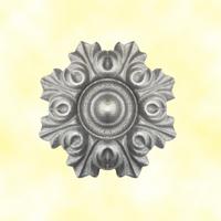 Rosace aluminium Ø100mm