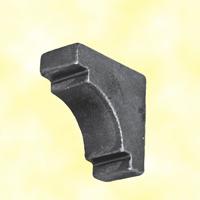 Renfort d'angle tube 40x40