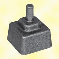 Crapaudine fonte 55x55mm