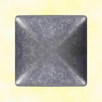 Couvre pilastre 60x60mm aluminium