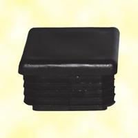 Bouchon nylon plein 30x30mm
