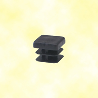 Bouchon nylon plein 16x16mm