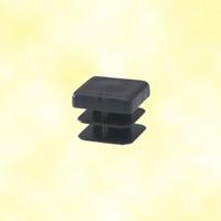 Bouchon nylon 20x20mm plein pour tube carré épaisseur 1 à 2mm