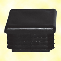 Bouchon nylon plein 80x80mm